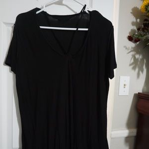 Pacsun Black t-shirt dress